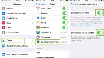 IPhone : Localiser mon iPhone