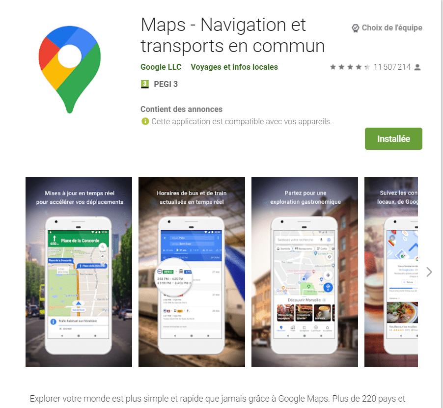 Comment localiser un téléphone avec Google Maps?