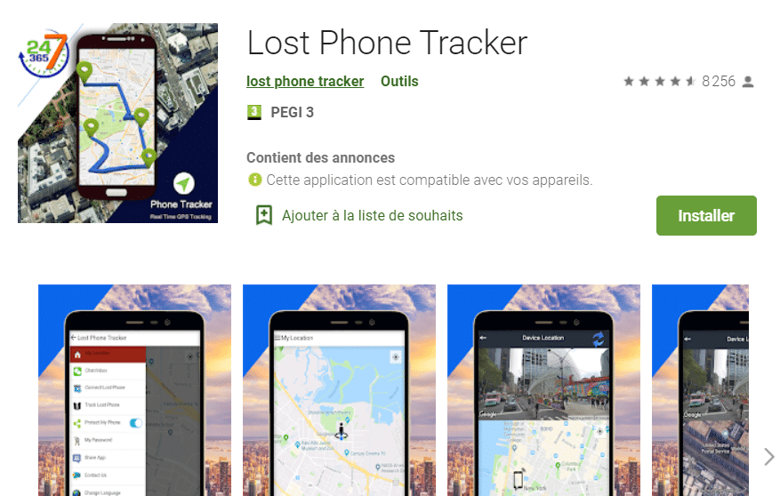 Lost Phone Tracker
