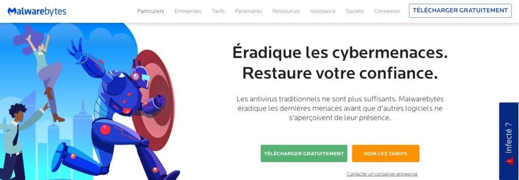 Supprimer des virus avec Malwarebytes Anti-Malware gratuitement