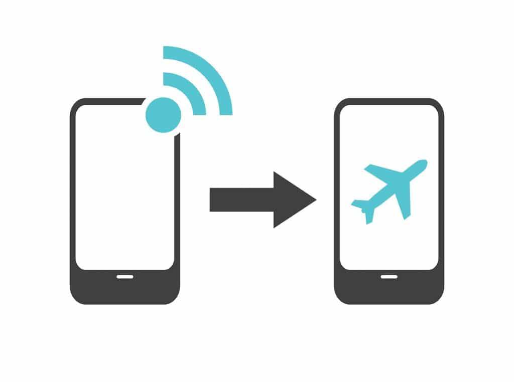 C'est quoi le mode avion sur un portable ?