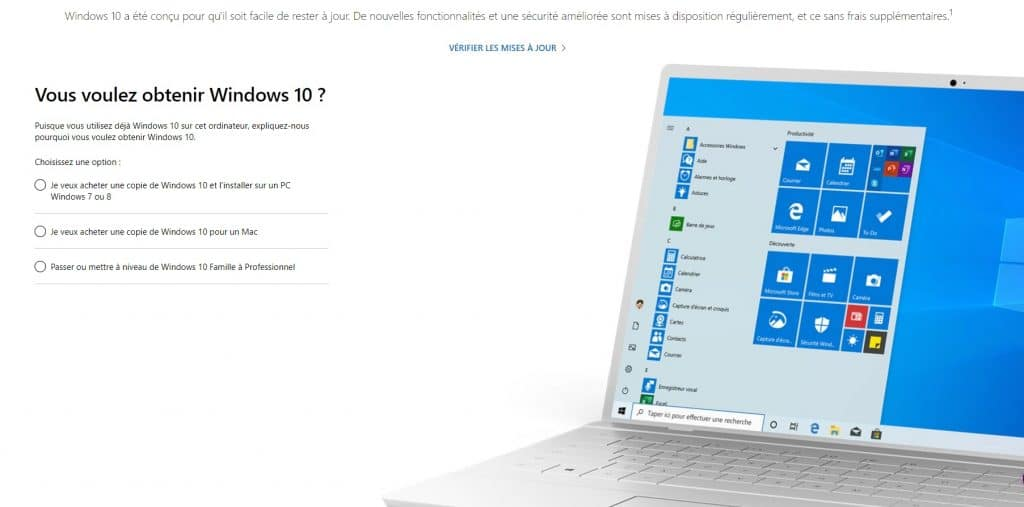 Supprimer un virus sur votre PC tournant sur Windows 10