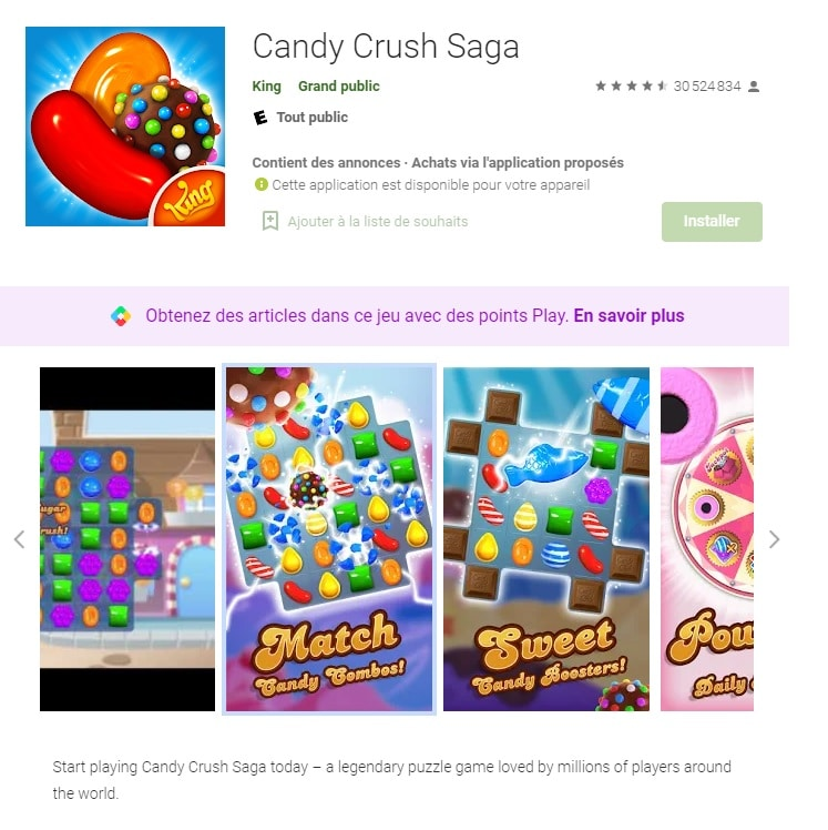 Comment télécharger Candy Crush Saga ?