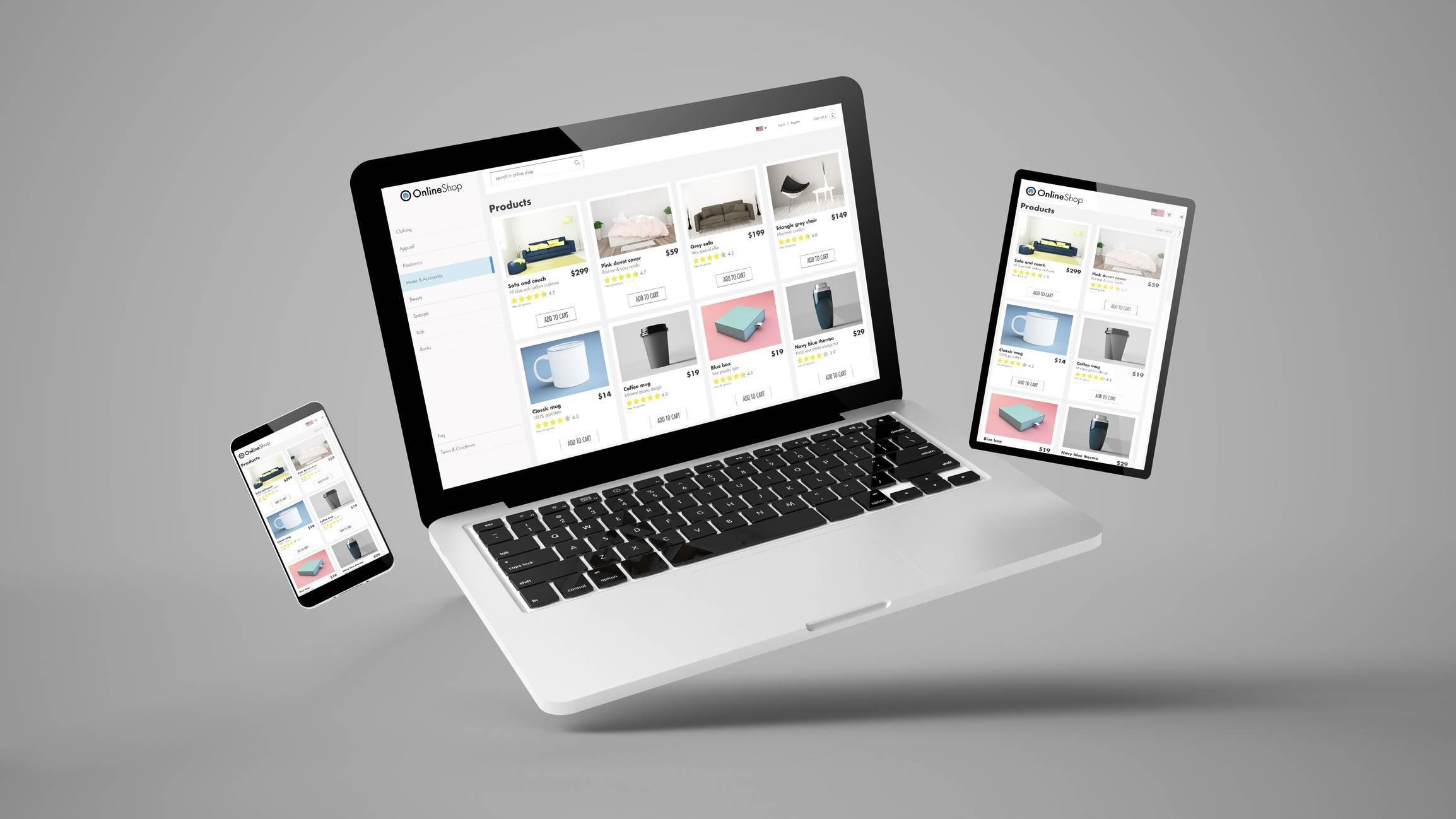 création de site internet et application web agence